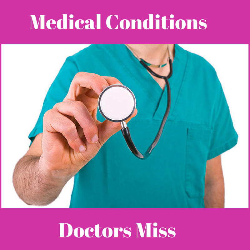 medical conditions doctos miss