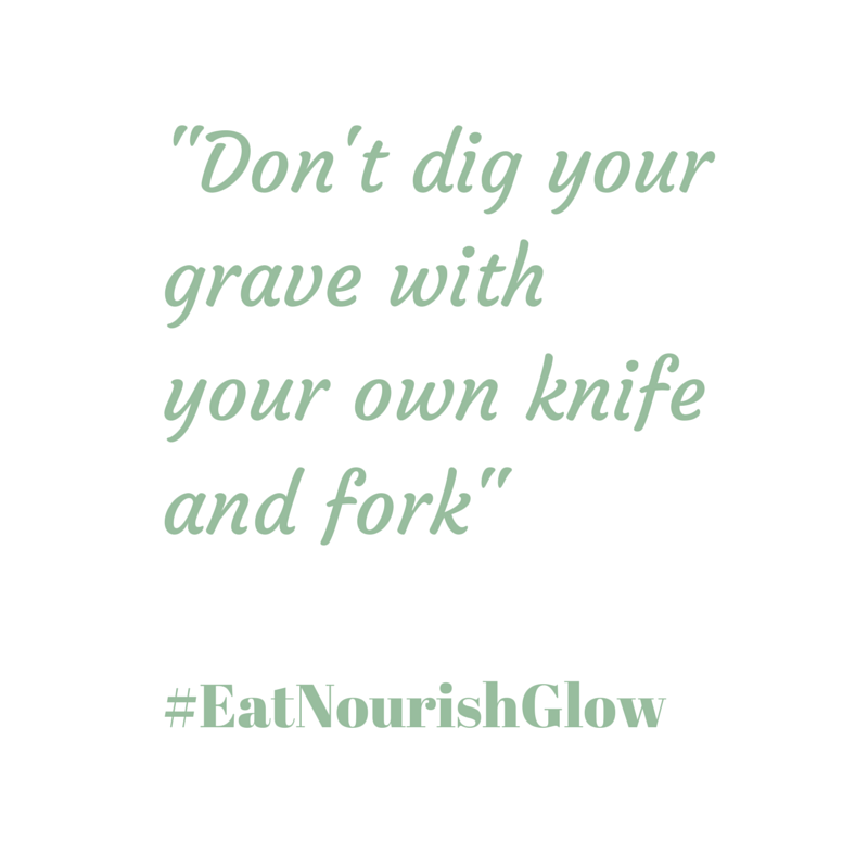 Don't dig your grave with your own knife