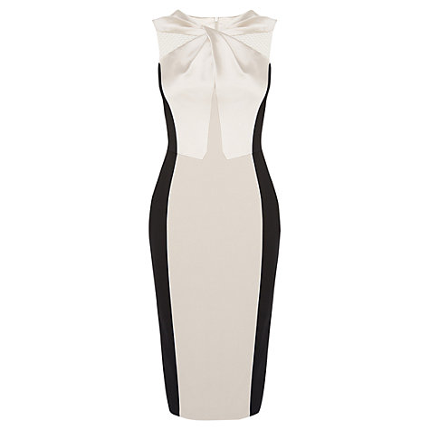 Illusion dress to look slimmer image