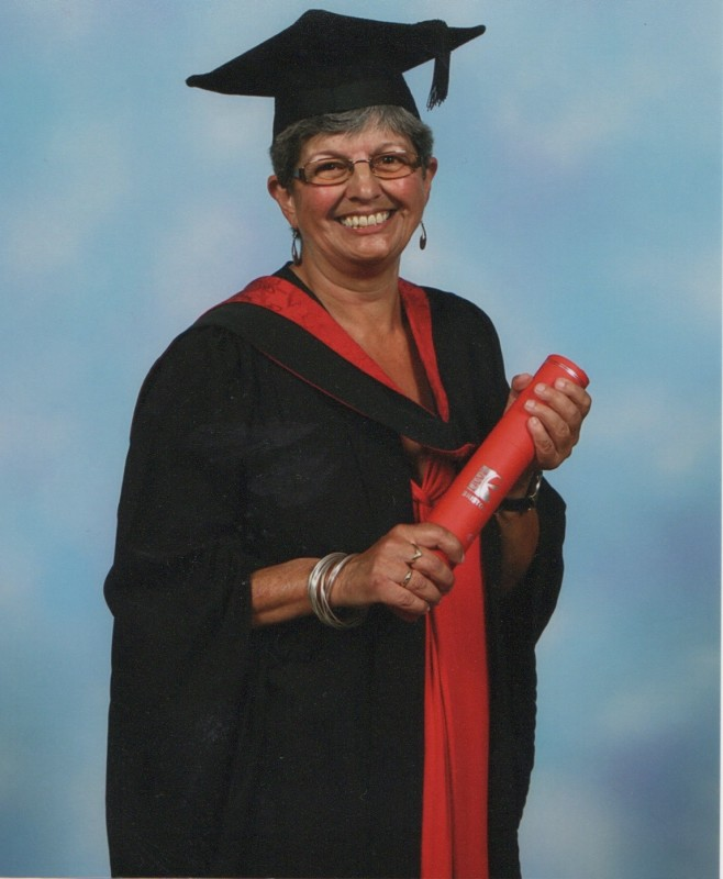getting a university degree over 50