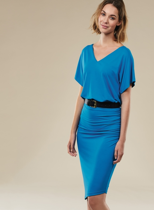 baukjen blue dress