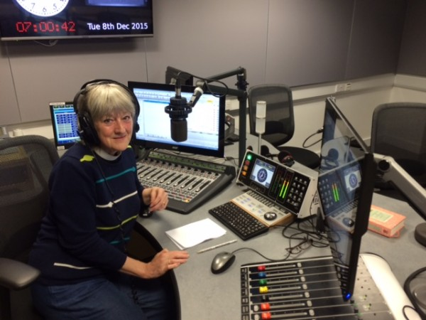 Maggy becomes a BBC Radio Presenter in her 50s image