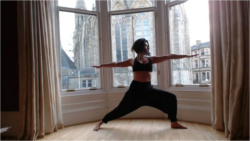 yoga pose for menopause image 2