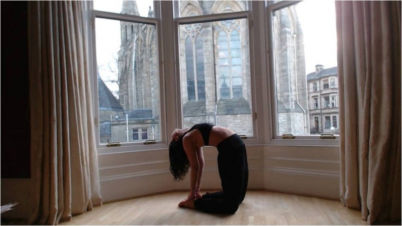 yoga and menopause pose 4 image