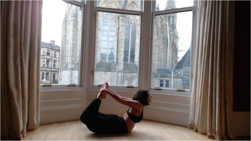 yoga and menopause pose 5 image