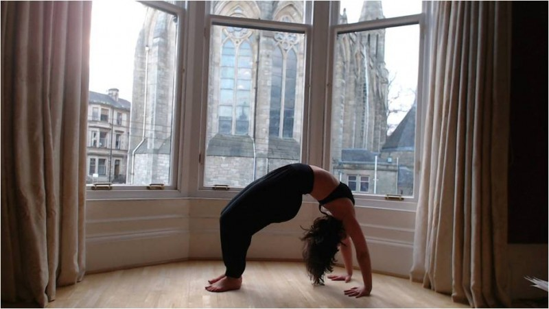 yoga for menopause pose 6
