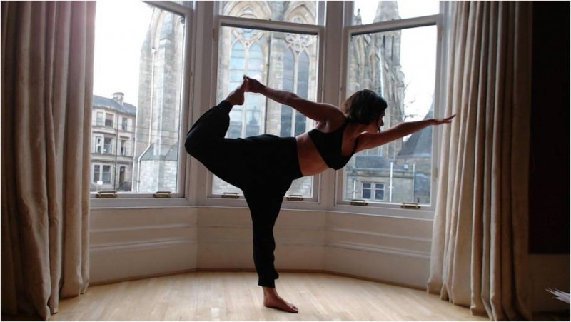 yoga for the menopause image