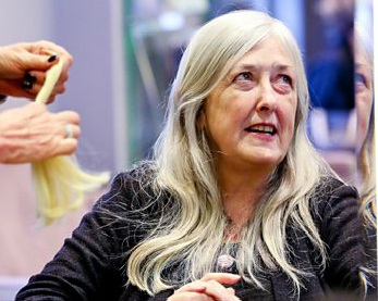 Mary Beard glad to be grey