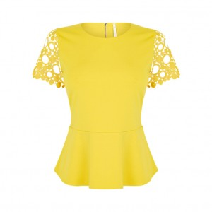 Yellow top from John Lewis
