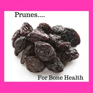 Prunes for bone health image