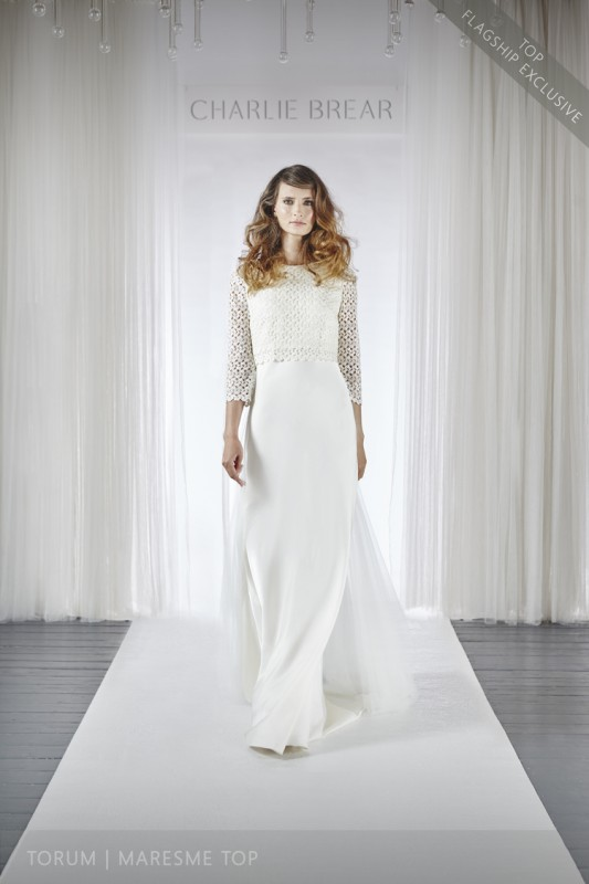 chic wedding dress for 50plus