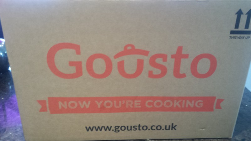 Gousto recipe box image