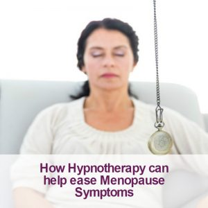 can hynotherapy help menopause image