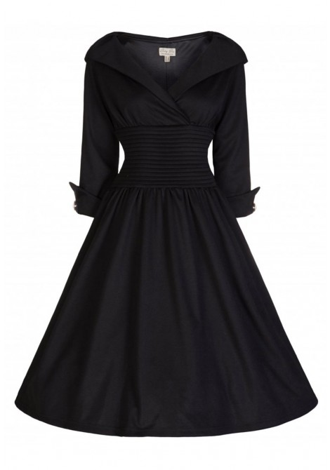 50 Plus Style Dress With Sleeves Inspired By Grace Kelly