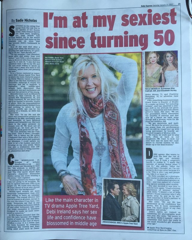 fab after fifty in Daily Express image