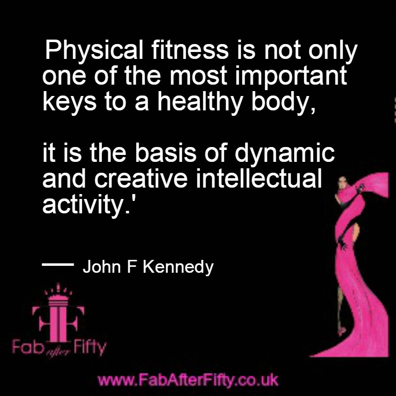 jfk fitness quote