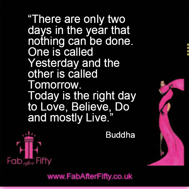 buddha today quote image