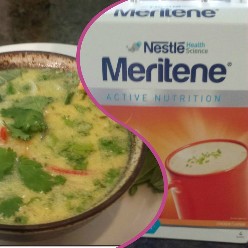 meritene and sexy seafood soup recipe