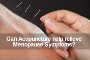 acupuncture to relieve menopause symptoms image