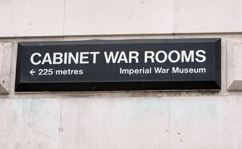 churchills war rooms london image
