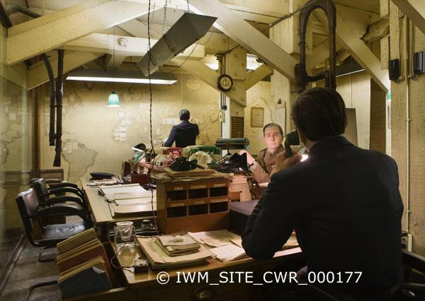 Churchills war rooms image