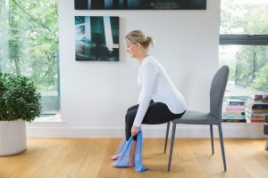 seated exercise bone health menopause image