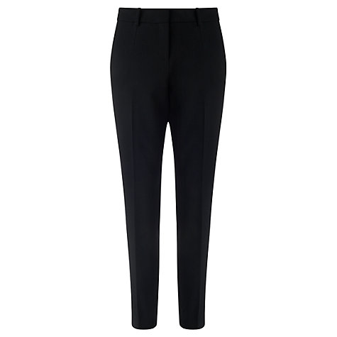 french style over 50 black trousers