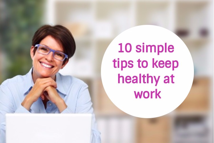 50plus health tips for the workplace image