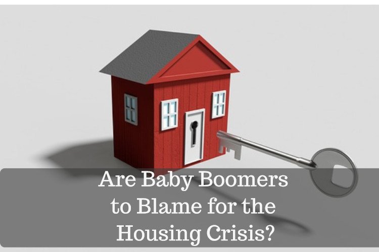 baby boomers and housing crisis image