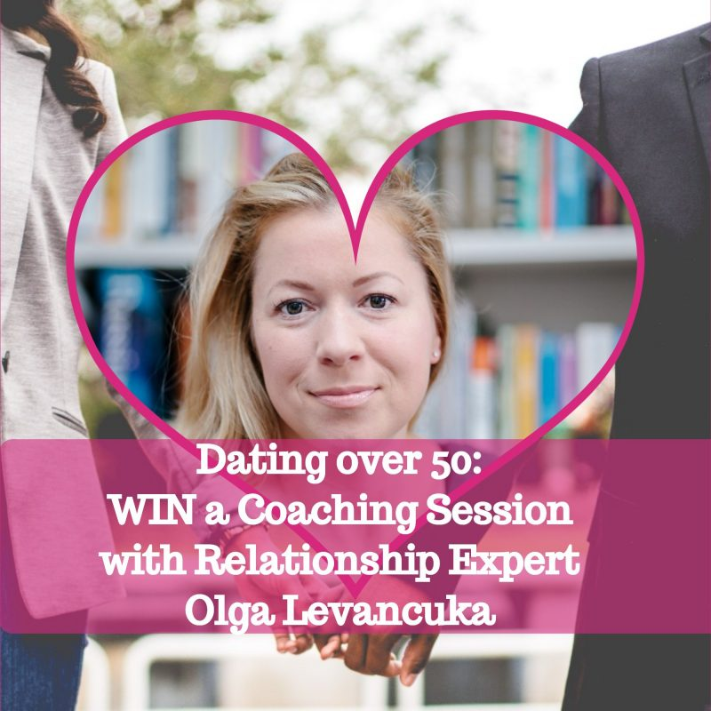win a dating coaching session with Olga Levancuka image