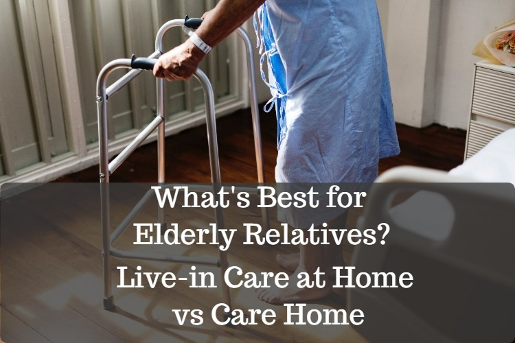 live in care or care home image