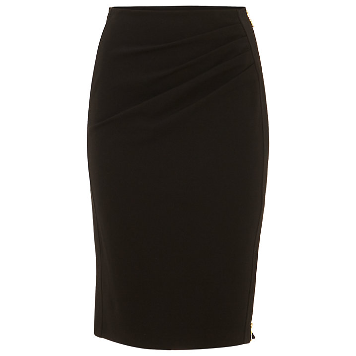over 50 black pencil skirt image