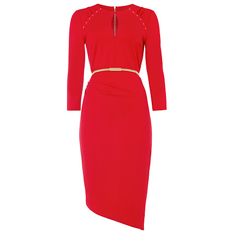 over 50 style red dress
