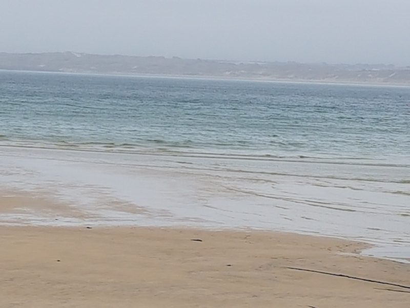 sea at St Ives