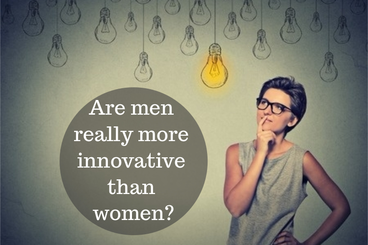 are men more innovative than women image