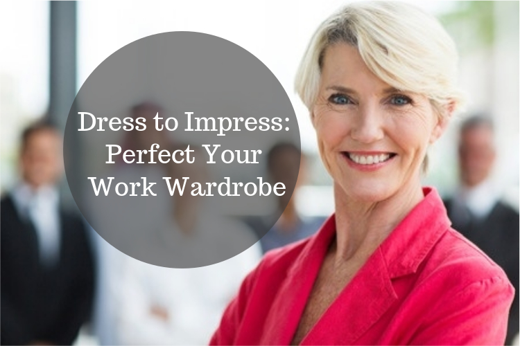 dress to impress for work over 50 image