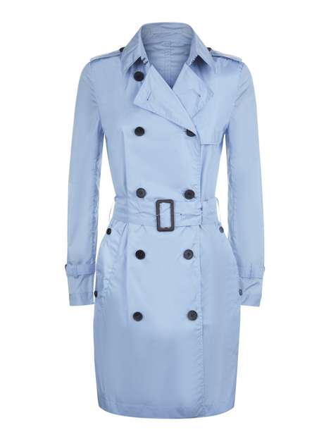 city break trench coat image