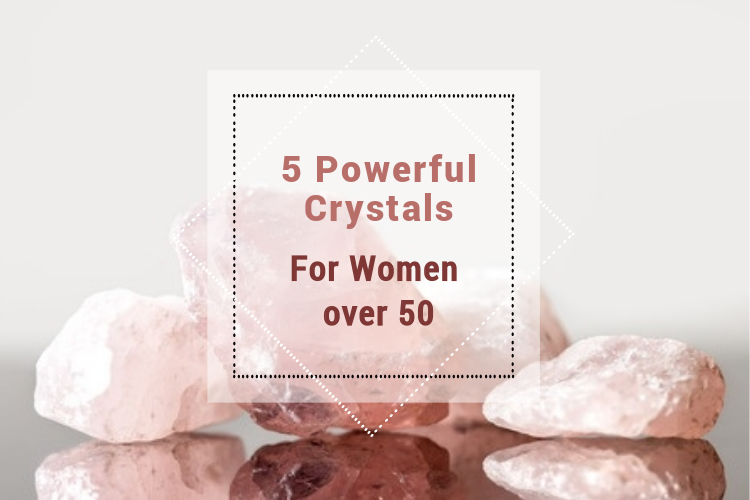powerful crystals for women over 50 image
