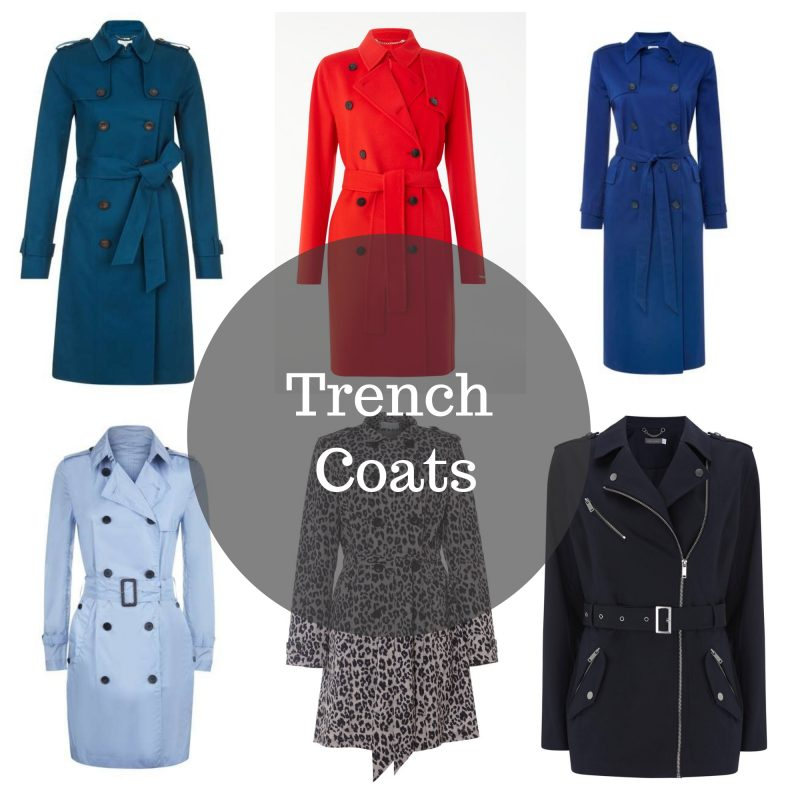 style over 50: Trench Coats