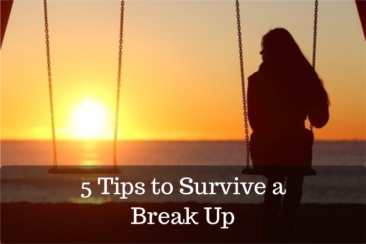 tips to survive a break up over 50