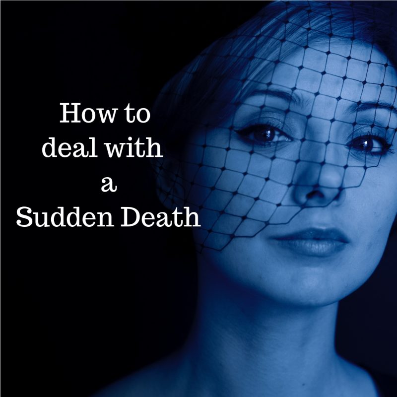 tips for dealing with sudden death image
