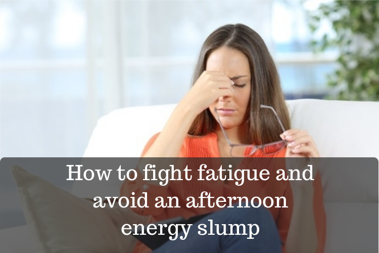 tips to avoid afternoon energy slump image
