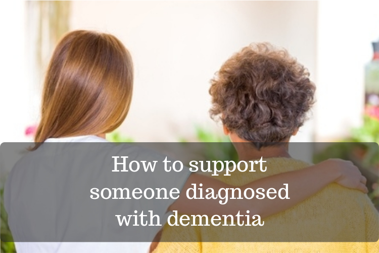 supporting someone with dementia image