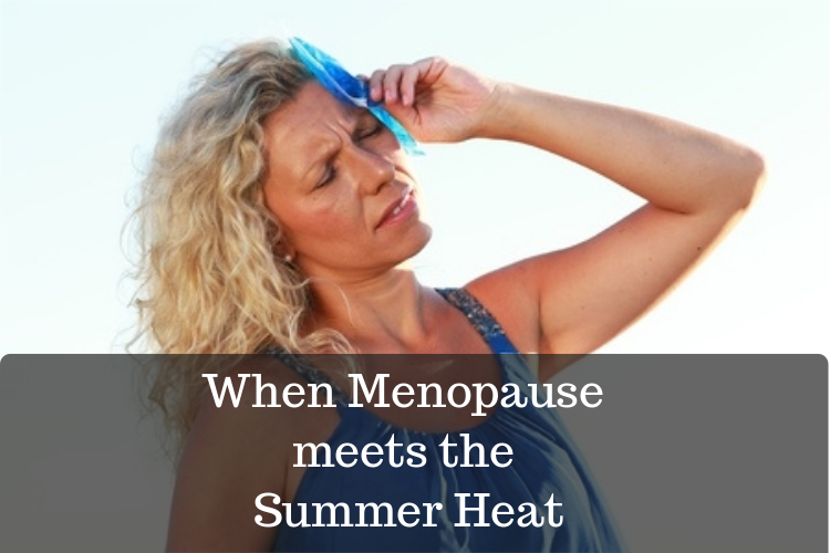coping with menopause in summer heat image