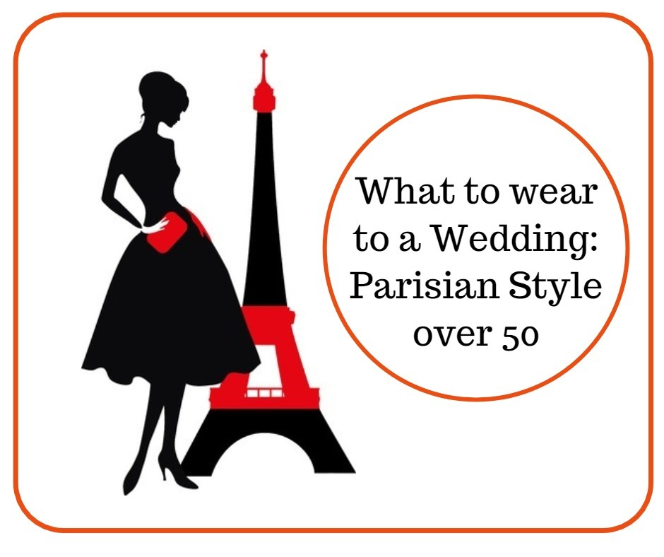 style over 50: what to wear to a wedding parisian style image