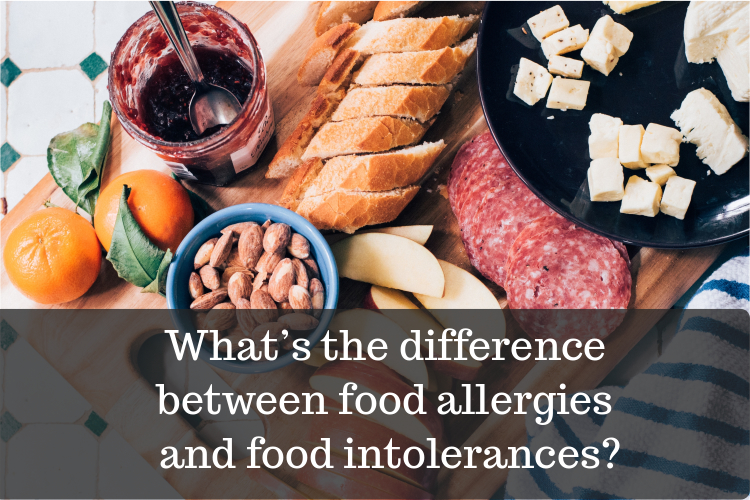 difference between food intolerance and food allergy