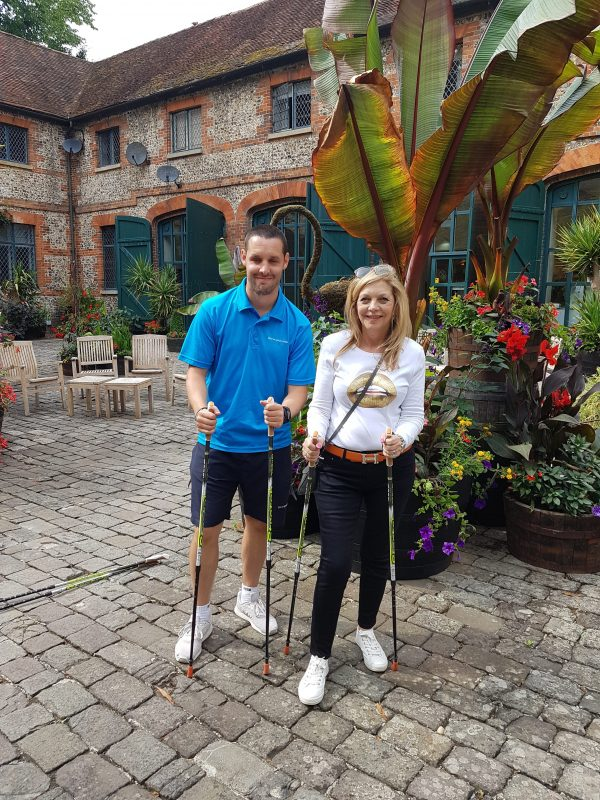 nordic walking with warner holidays image