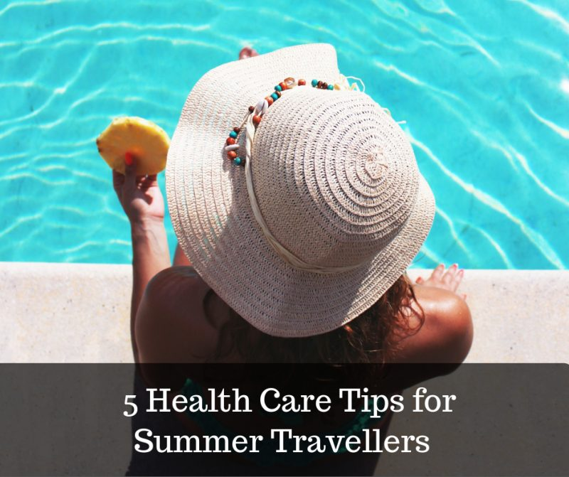 summer holiday health tips image