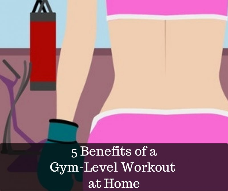 benefits of working out at home image