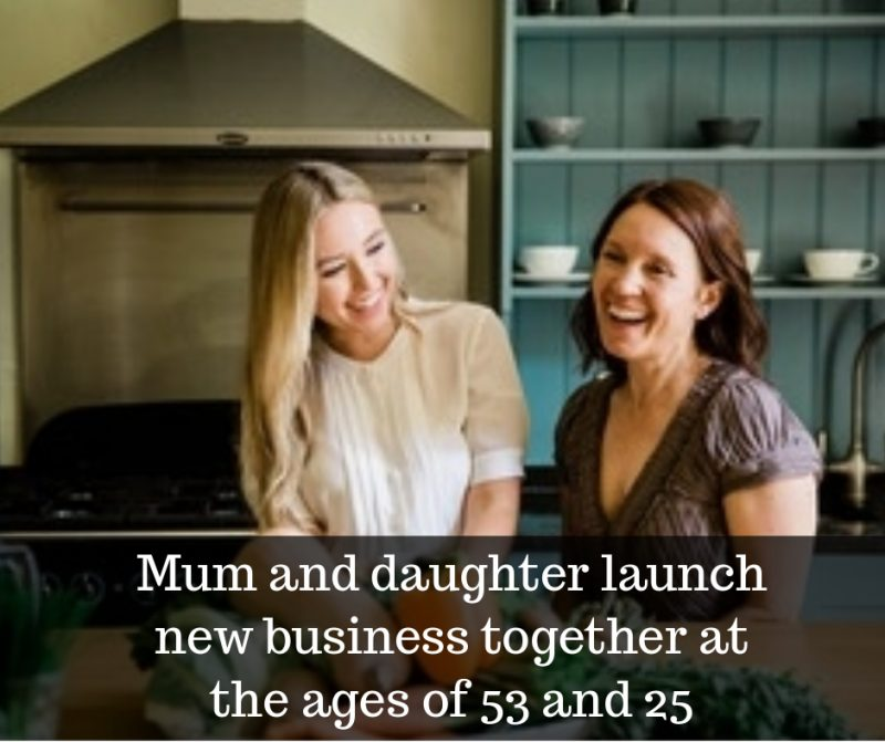 mum and dauhgter launch new business together image